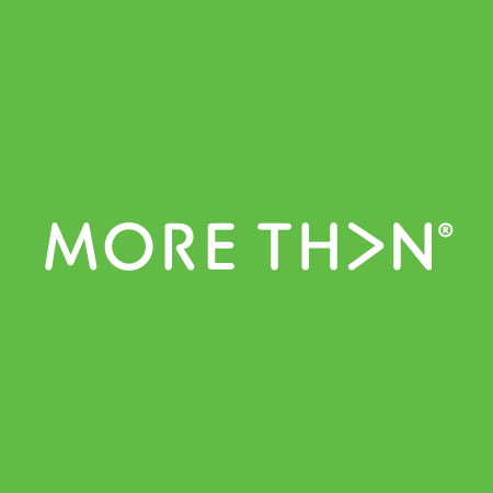 MORE TH>N - Logo